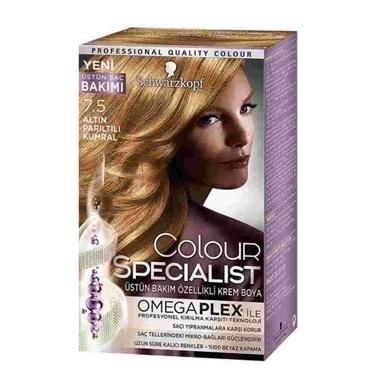 Luxy Bio  7.5 Altın Parıltılı Kumral Saç Boyası Kahve